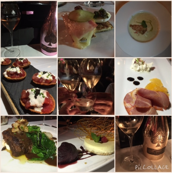 Armand de Brignac & Chef Adrianne's Pairing: A Night To Remember.