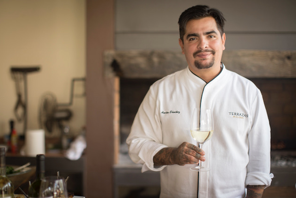 Food and Wine With Chef Aarón Sánchez
