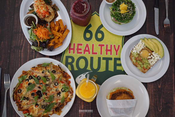 It's Easy to Eat Healthy When the Food Taste Good | Say Hello to Healthy Route 66