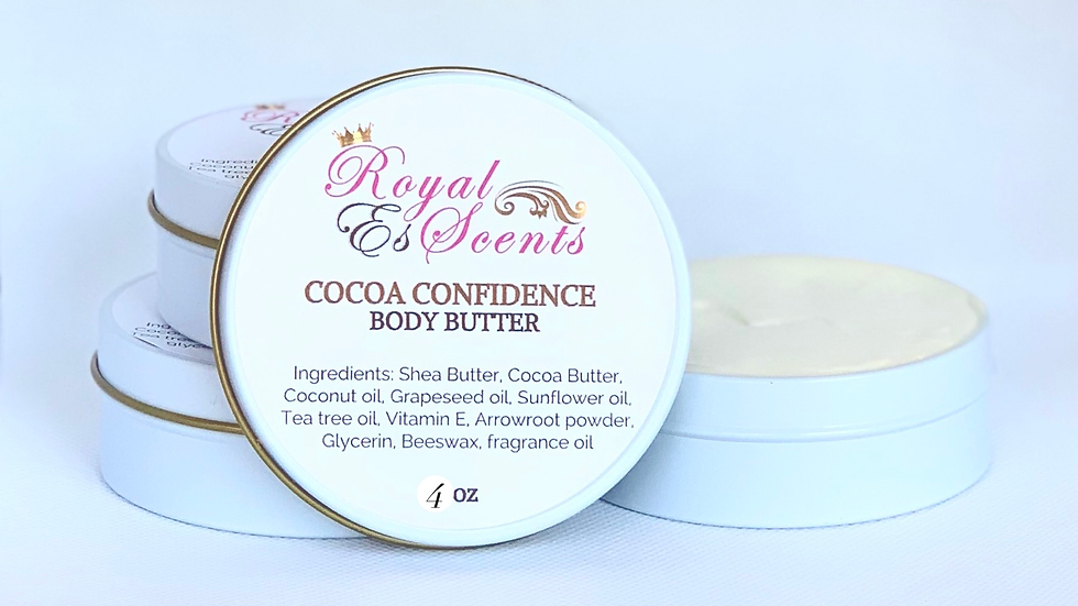 Cocoa Confidence Body Butter