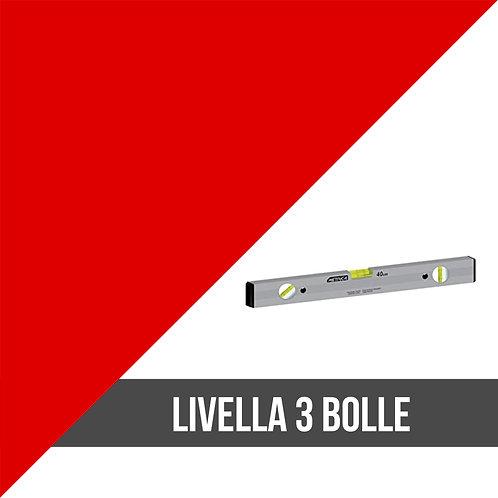 Livella professionale 3 bolle