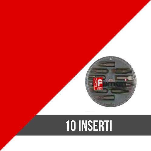 Inserti 10 pz tascabili