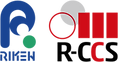 RIKEN R-CCS Logo