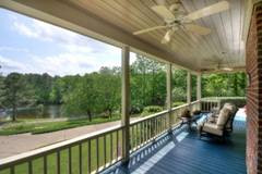 Aview of the accessible front porch at 1060 Ven Villa Road.