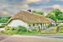 Old style cottage in Ireland