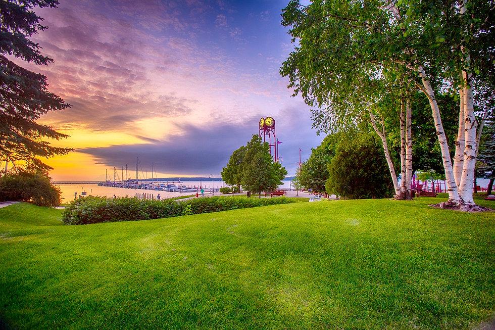 Petoskey waterfront in Michigan