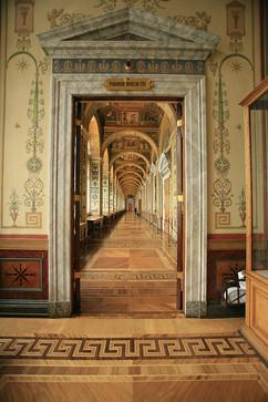 Hallway in Hermitage Museum
