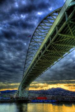 Fremont Bridge in Portland, Oregon
