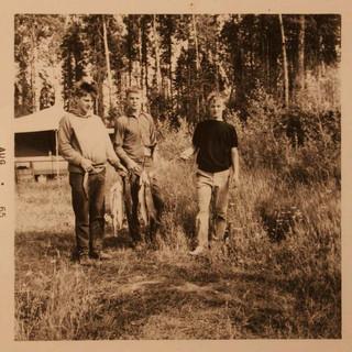 john steve and dave fishing 1965 canada_