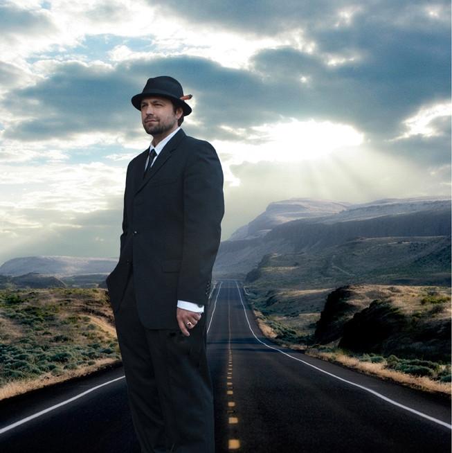 marv ellis  on road, music cover