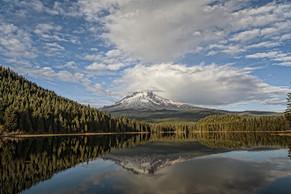 Trillium Lake and Mt Hood