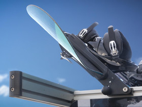 Hybrid Operations: Snowboard Rack