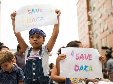What happened to DACA on 7/16/21?