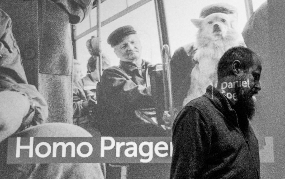 Křest knihy Homo Pragensis