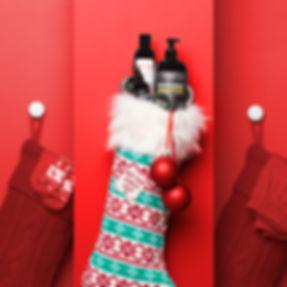 katnik creative, ballwash, ballsy, christmas content, studio, festive, product photography, set design