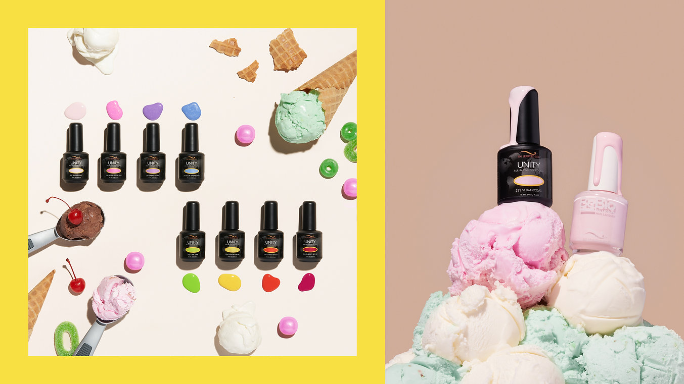 Cosmetic Product Photography in Studio, Nail Polish Brand
