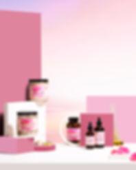 katik creative, cosmic skincare, skin, organic products, set design, product styling, toronto photographers, design, studio