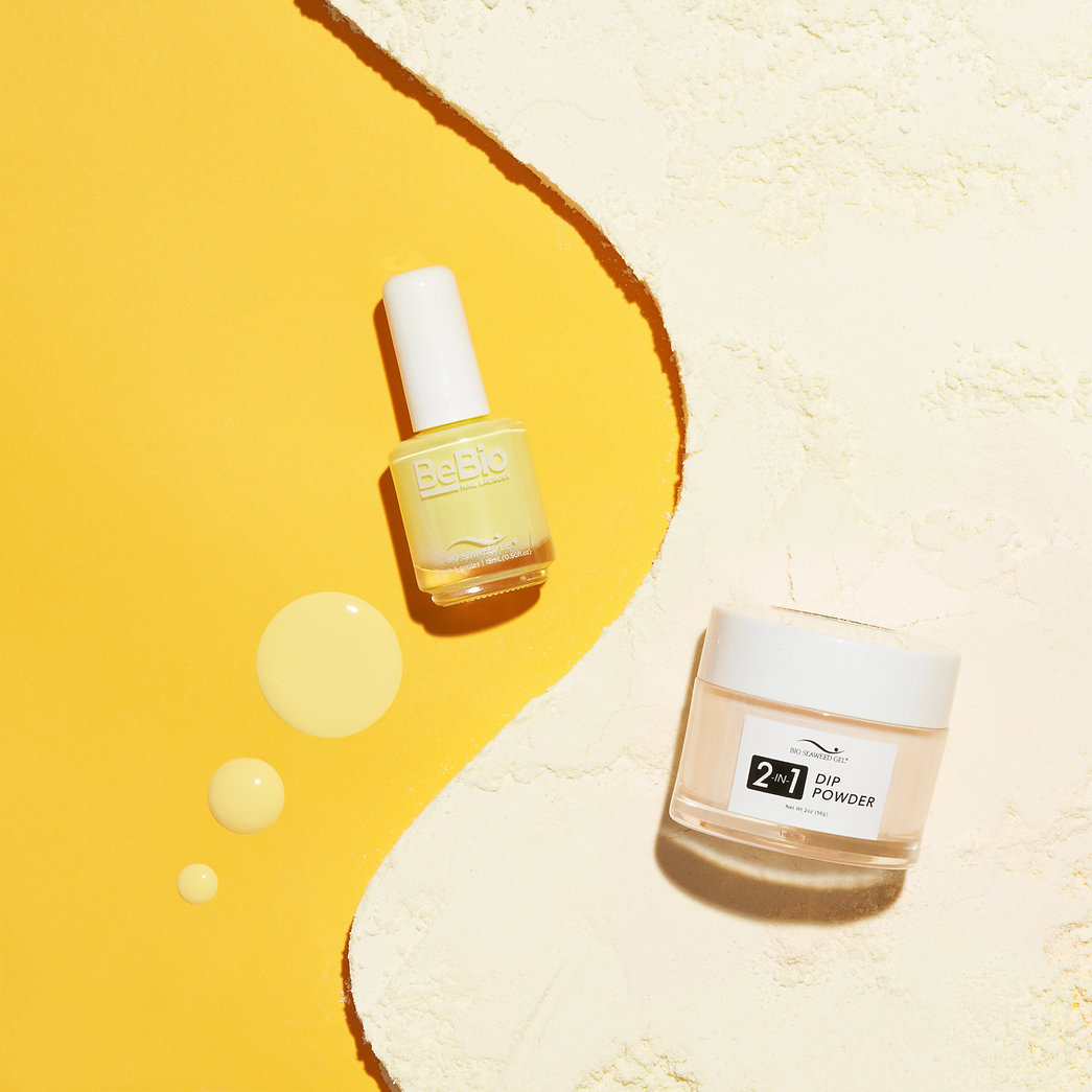 Colourful Commercial Product Photography for Nail Polish Brand