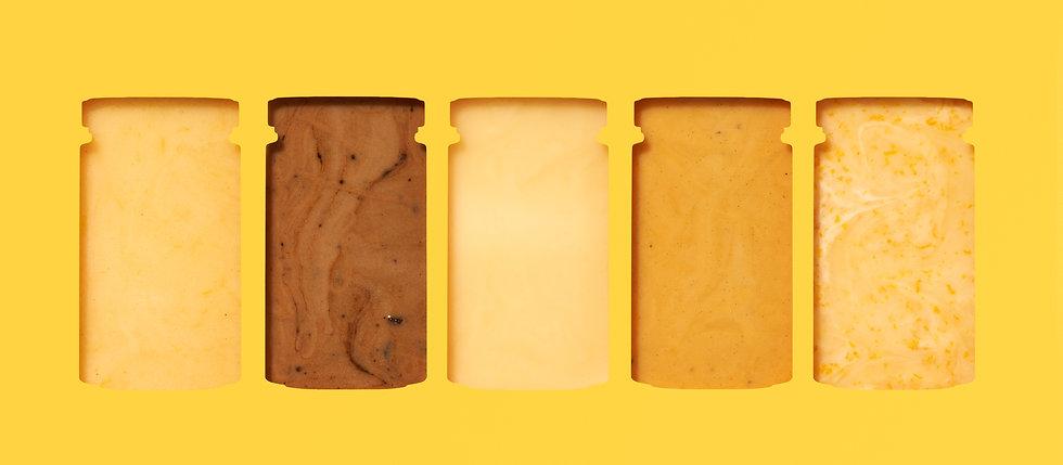 Creative Honey Swatches for Ecomm Brand