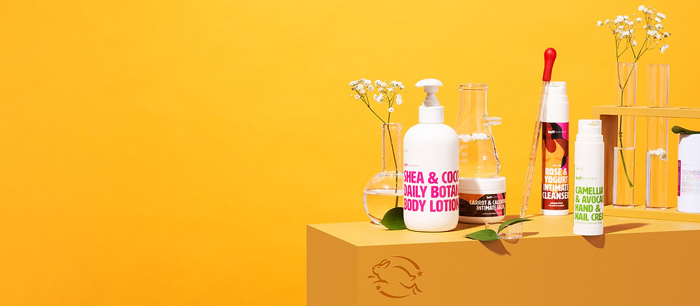 Buff Experts Bodycare Photographed in Studio, Cosmetic Product Photography