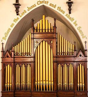 Covenant-First Presbyterian Chuch Austin Pipe Organ 1915