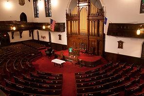Covenant-First Presyterian Church Historic Sanctary