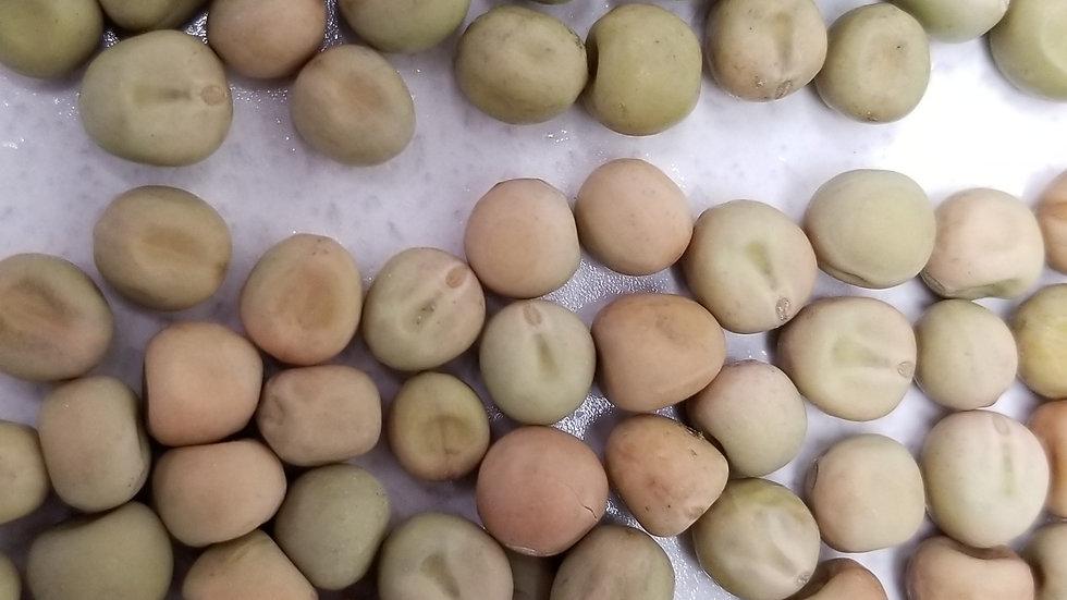 Canadian dun peas
