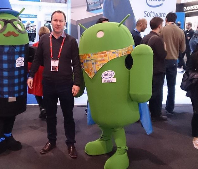 Speaking at Mobile World Congress