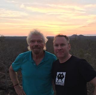Safari with Sir Richard Branson