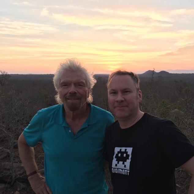 Safari with Sir Richard Branson