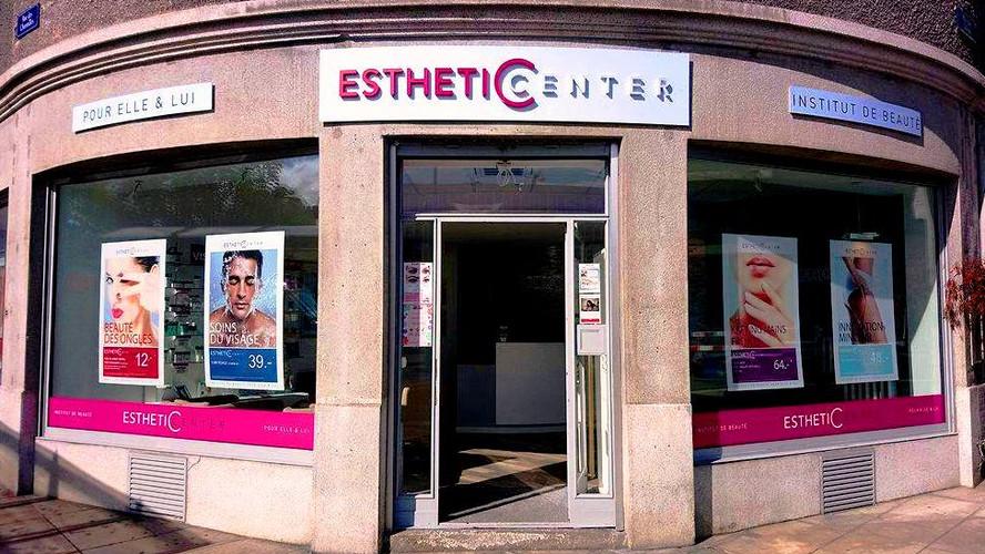 Façade institut de beauté Genève