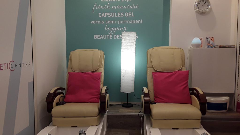 Pédicure avec massage à Genève quartier de Saint-Jean
