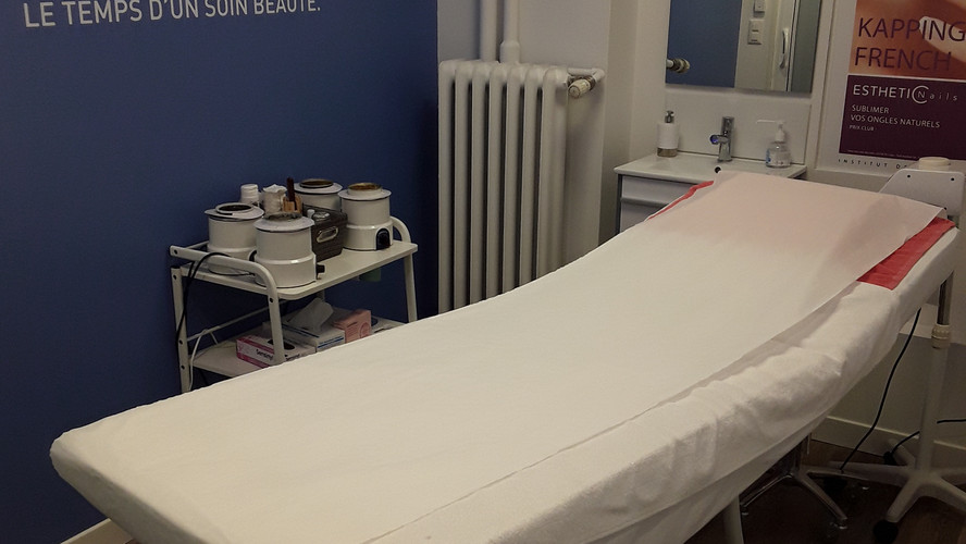 Cabine de soins, institut de beauté à Genève quartier de Saint-Jean