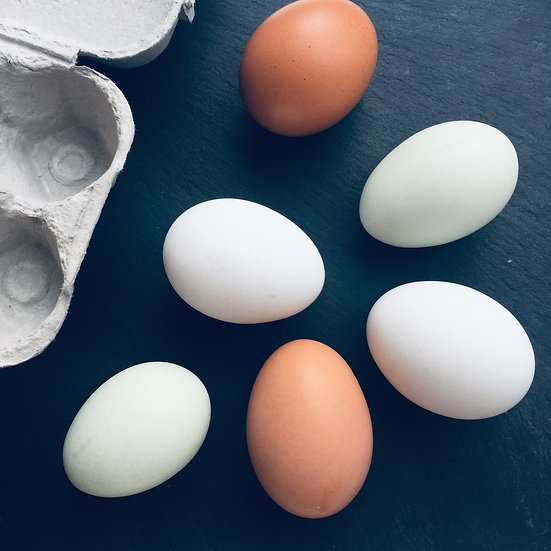 Pasture Raised Hen Eggs