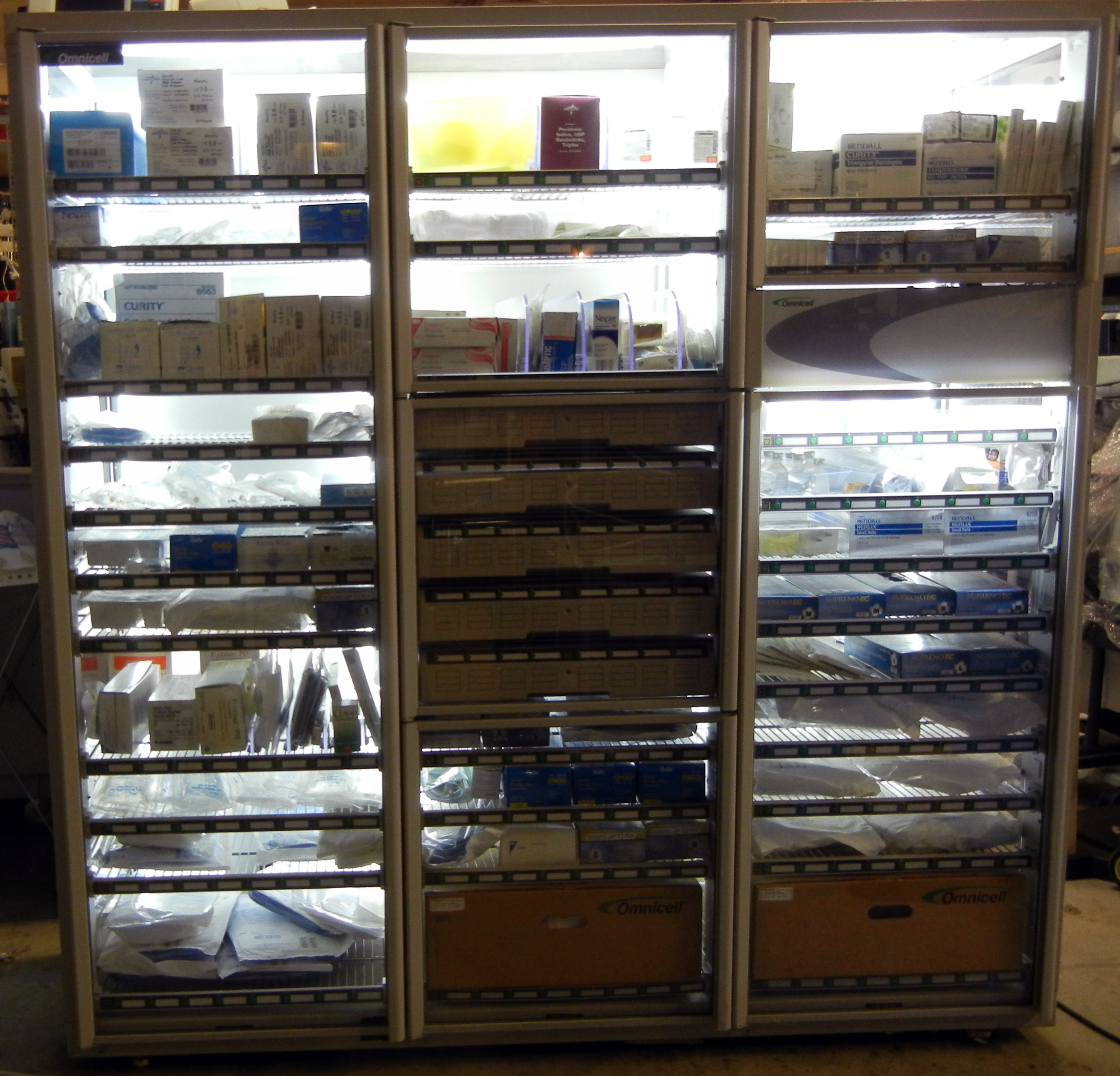 Medical Display Case