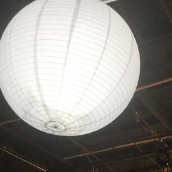 Rigid Cinema White China Ball