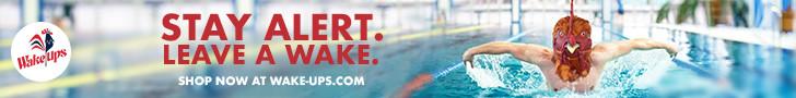 Swimmer Banner Ad