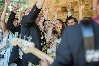 Cocktail musical Mariage Apéritif
