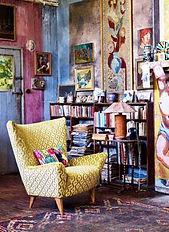 style-hippie-chic-salon-tapis-rustique-p