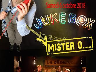 Mister O...concert de rentrée 2018