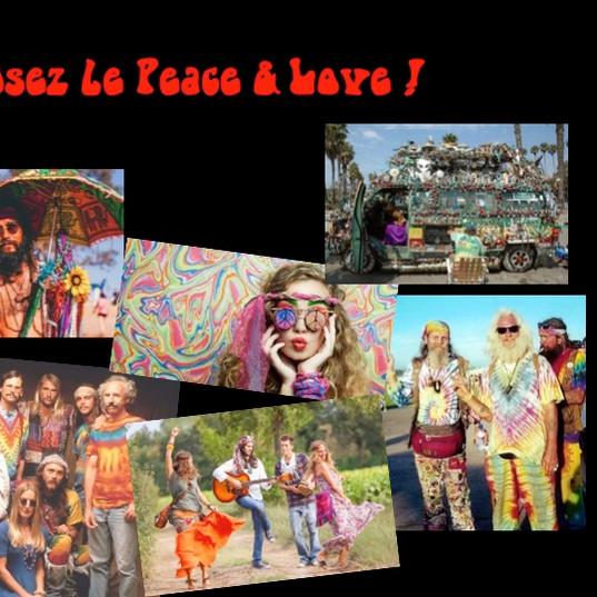 Costumes et déguisements hippie