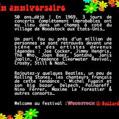 les 50 ans de Woodstock