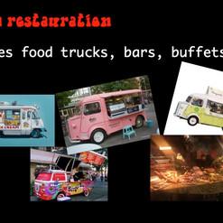 food trucks restauration