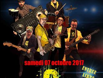 samedi 7 octobre 2017