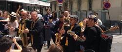 concert itinérant fanfare