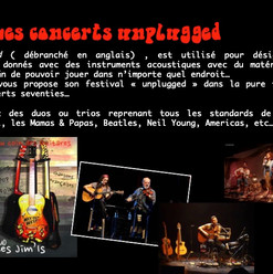 concerts unplugged
