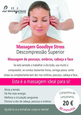 Massagem Goodbye Stress