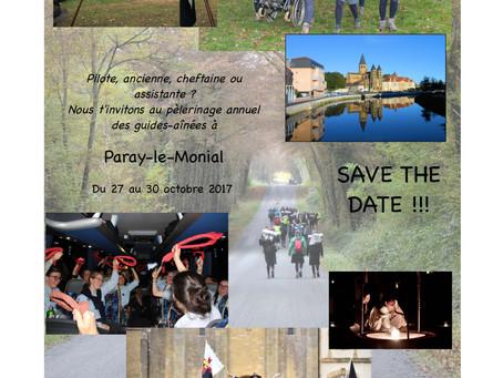 Pèlerinage annuel des guides-aînées à Paray-le-Monial