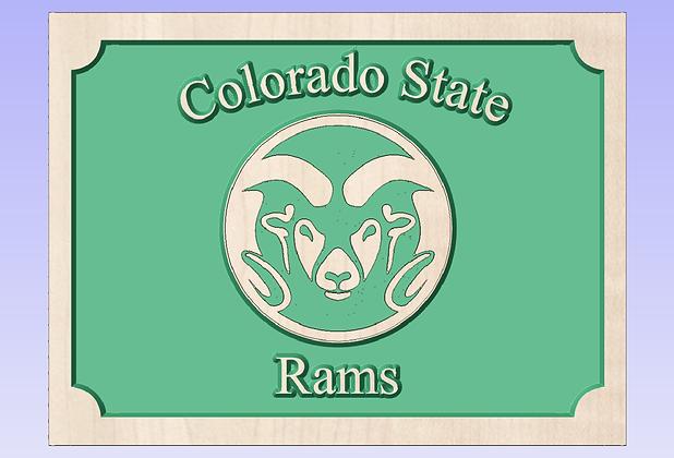 CSU Rams Sign