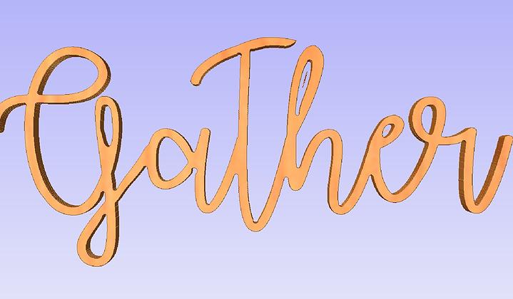 Gather - Cutout